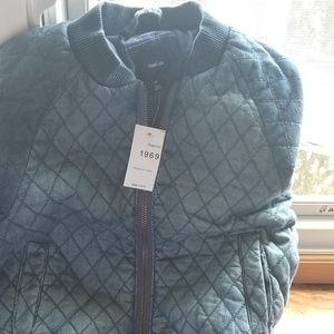GAP GIRL BLUE JACKET SIZE SMALL (6-7) NEW WITH TAG